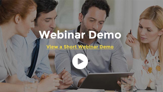 View a short Webinar Demo